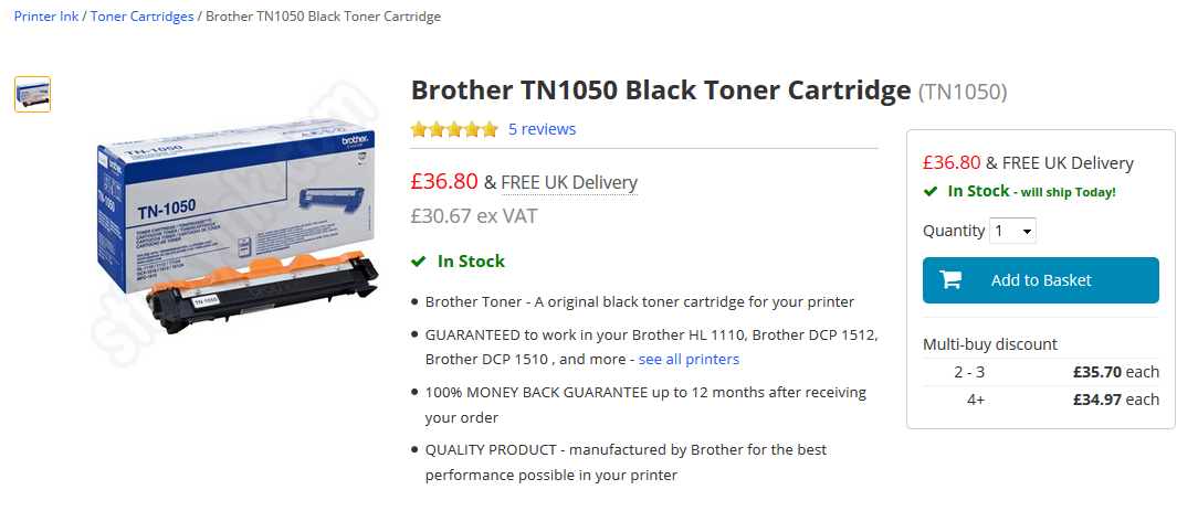 Brother toner dolumu izmir tn 1040 ve tn 1050 muadil toner
