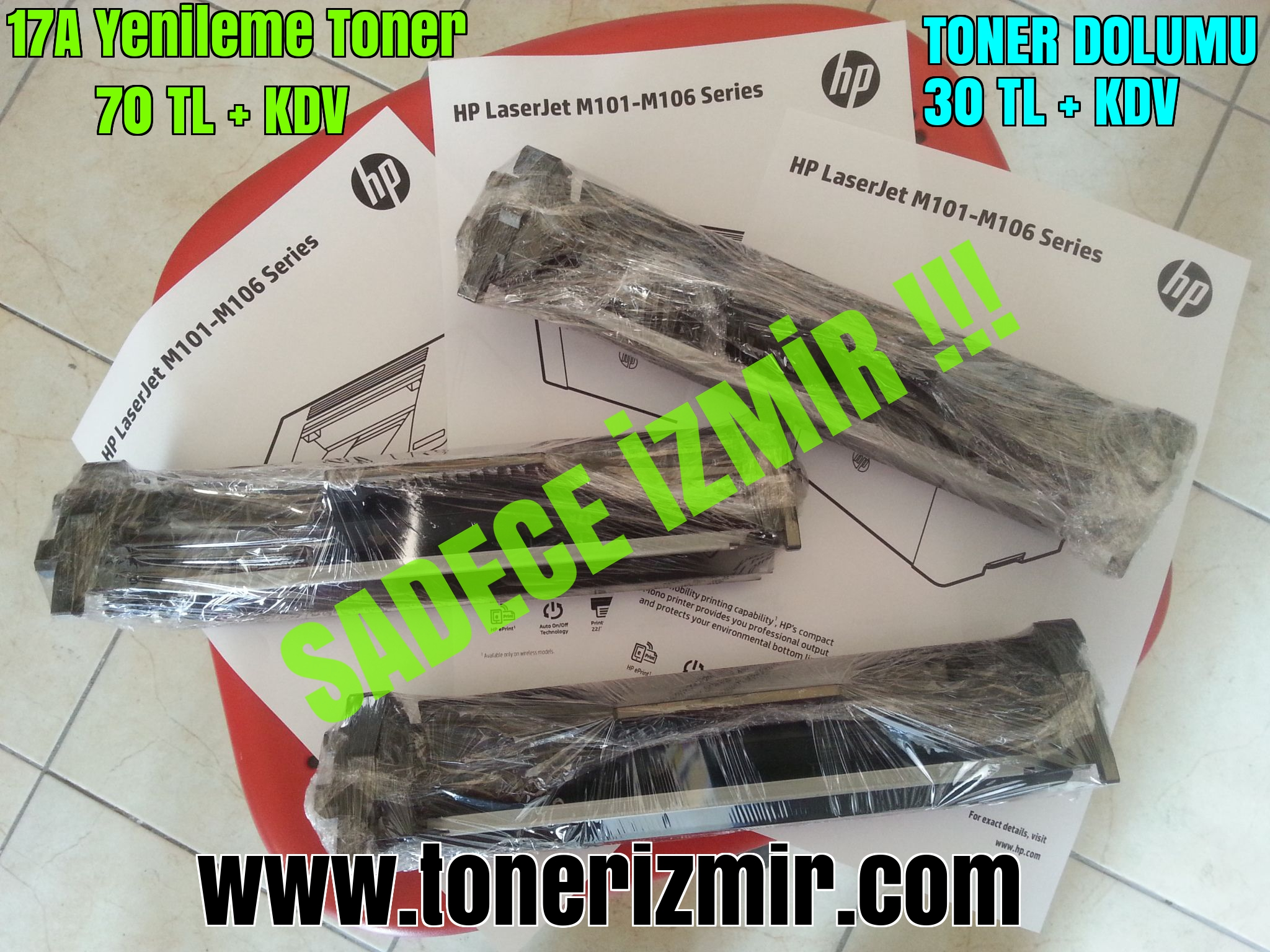 Toner refill and compatible toner in Turkey
