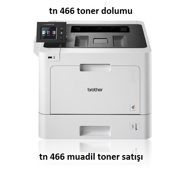 brother hl l8360 tn 466 toner dolumu